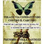 Pesaro - Domenica 22 novembre - Presidio al carcere di Villa Fastiggi