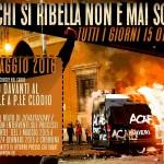 Roma - 12 maggio 2016: solidarietà ai/alle ribelli del 15 ottobre 2011