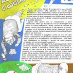Accadde il 3 luglio 2011 - Solidarietà a Gabriele e Pandino