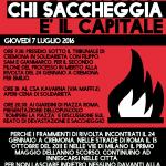 Cremona - Giovedì 7 Luglio – Giornata contro la devastazione e il saccheggio delle nostre vite
