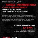 Roma - 15 dicembre - Iniziativa benefit per la cassa di solidarietà La Lima @ BAM