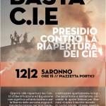 Saronno - Domenica 12 febbraio - Presidio contro la riapertura dei CIE