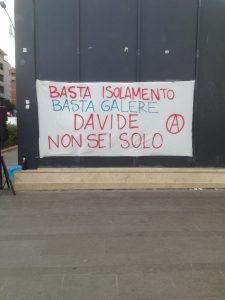 Davide è in sciopero della fame