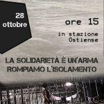 Roma – 28 ottobre Presidio solidale al CPR di Ponte Galeria