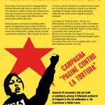 L'Aquila 24/11 - Solidarietà con Nadia Lioce A FIANCO DI CHI LOTTA DENTRO LE GALERE CONTRO IL 41BIS