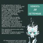 L'Aquila, 28 settembre - Presidio al Tribunale e al carcere - 41 BIS = TORTURA