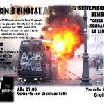 15 ottobre 2011: NON È FINITA - Benefit cassa di solidarietà e assemblea - 7 settembre @ Campetto occupato di Giulianova