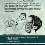 """Martedì 16 ottobre - Presentazione """"Indagine su un'epidemia"""" con Robert Withaker - Sala Ovale nel Parco delle Energie - Via Prenestina 175"""