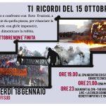 Firenze - Ti ricordi del 15 Ottobre? - Incontro con Rete Evasioni al CPA