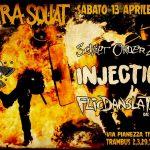 """Torino - 13 aprile concerto benefit """"Cassa di solidarietà La Lima - inguaiati 15 ottobre"""" @Edera squat"""