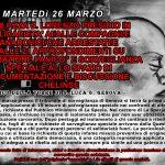 """Genova - 26/3 - Presidio in solidarietà ai/alle compagni/e anarchici/che arrestati/e e approfondimenti su """"operazione panico"""" e sorveglianza speciale"""