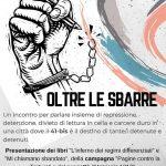 L'Aquila - 19 giugno - Oltre le sbarre : presentazione di libri e discussione su repressione e carcere duro