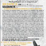 Manifesto in solidarietà con Silvia, Anna e i compagni in sciopero della fame