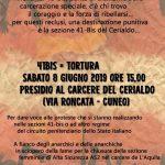 Cuneo - 8 giugno presidio al carcere. 41bis = tortura