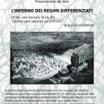 """Napoli- 26 ottobre presentazione """"L'inferno dei regimi differenziati"""""""