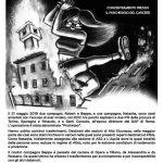 12 ottobre presidio solidale al carcere di Pavia
