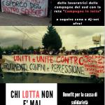 Napoli - 8 novembre iniziativa benefit per la cassa di solidarietà La Lima @Loska