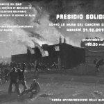 Saluzzo - 31 dicembre presidio solidale sotto il carcere