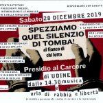 Udine - 28 dicembre presidio al carcere al fianco di chi lotta