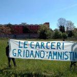 Roma - Sulla condizione carceraria e il presidio davanti Rebibbia del 16 Aprile