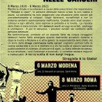 Un anno dalle strage nelle carceri - 6 Marzo a Modena in solidarietà con i detenuti - 8 Marzo sotto il Ministero di Giustizia