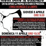 Roma - 8 e 11 aprile appuntamenti a Rebibbia al fianco dei detenuti e delle detenute
